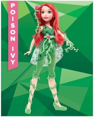TOYS : JUGUETES - DC Super Hero Girls Poison Ivy | Muñeca - Doll Producto Oficial | Mattel 2016 | A partir de 6 años Comprar en Amazon España & buy Amazon USA