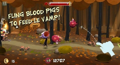 Le Vamp is Apple's Free App of the Week. This endless running game has a funny purple vampire. The game costs normally $ 0.99 but only today for free!