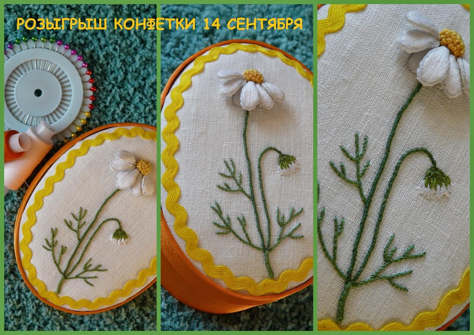 Книжно-вышивальная конфетка до 14 сентября