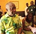 Laurent Gbagbo & Simone Ehivet.
