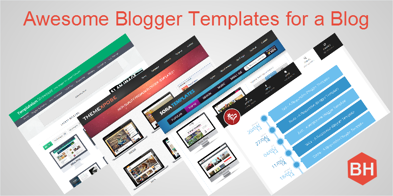awesome blogger templates for a blog