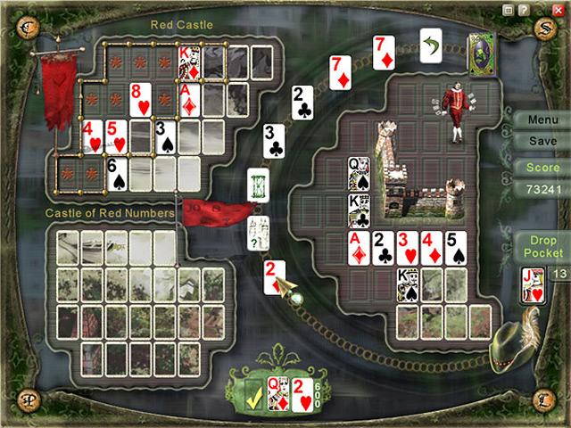 Скачать бесплатно игру Пасьянс: Возвращение в Королевство.