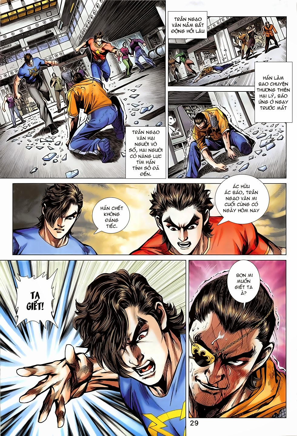 Tân Tác Long Hổ Môn chap 782 Trang 29 - Mangak.info
