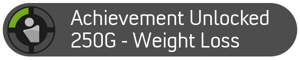 Achievement Unlocked - Weight Loss