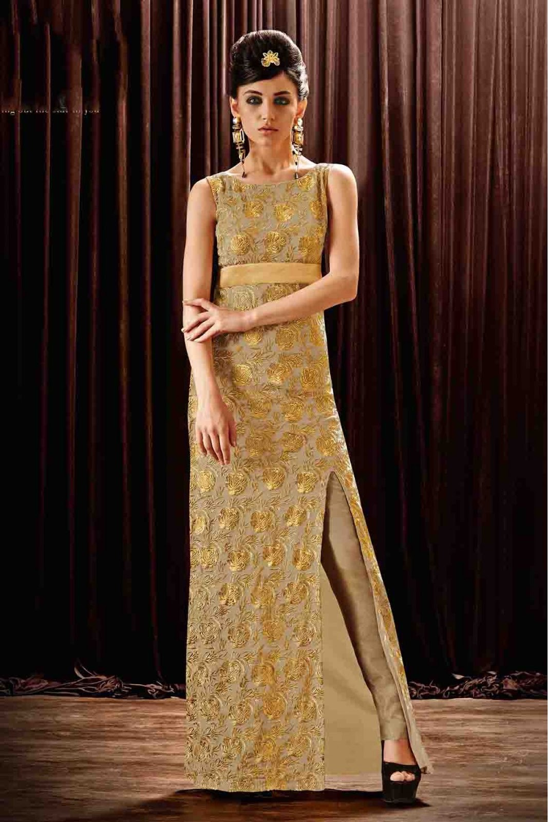 Latest Collection Online: Online Designer Gowns Sale in India