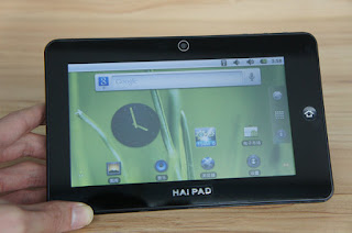 HaiPad Tablets with Google Android 4.0 Operating System