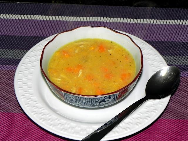 como fazer sopa de milho