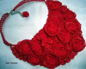 Crochet,bordado y flores