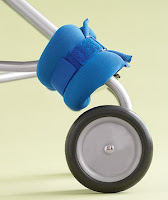 Ankle Weight as Stroller Counterbalance