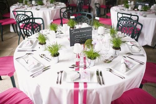 ... mariage: idée décoration mariage - Décoration de table mariage