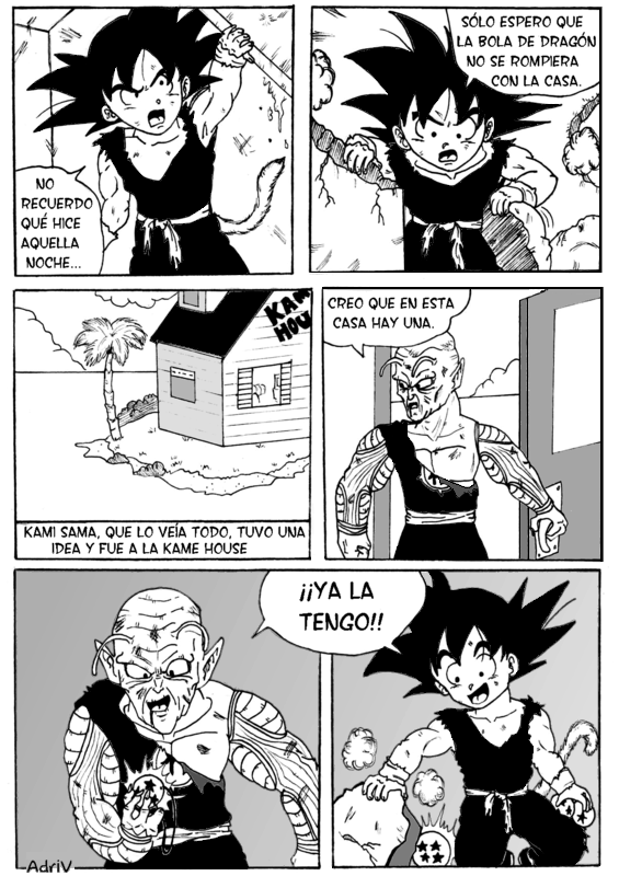 Dragon Ball SP (Saiyan Power) - Capítulo 2