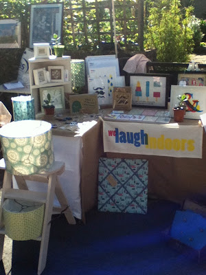 A closer look at we laugh indoors stall
