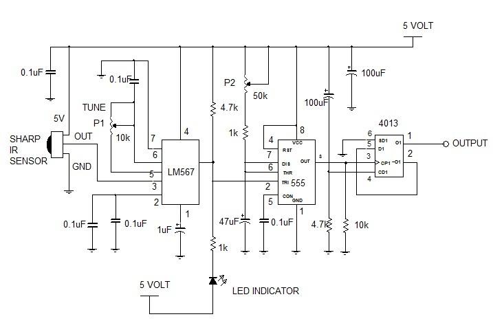 projek elektronik litar elektronik pic  atmel