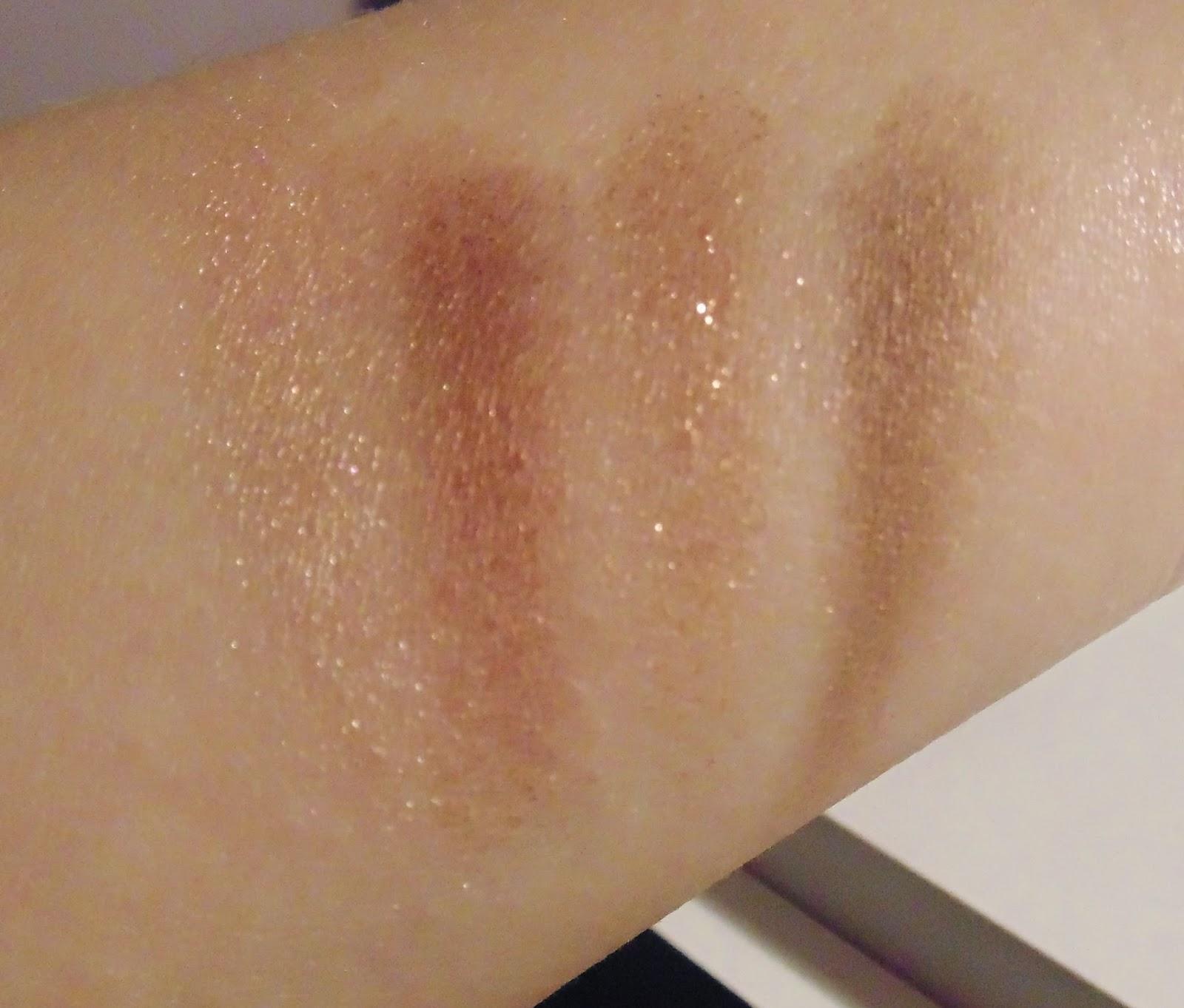 Charlotte Tilbury Dolce Vita Palette Swatches