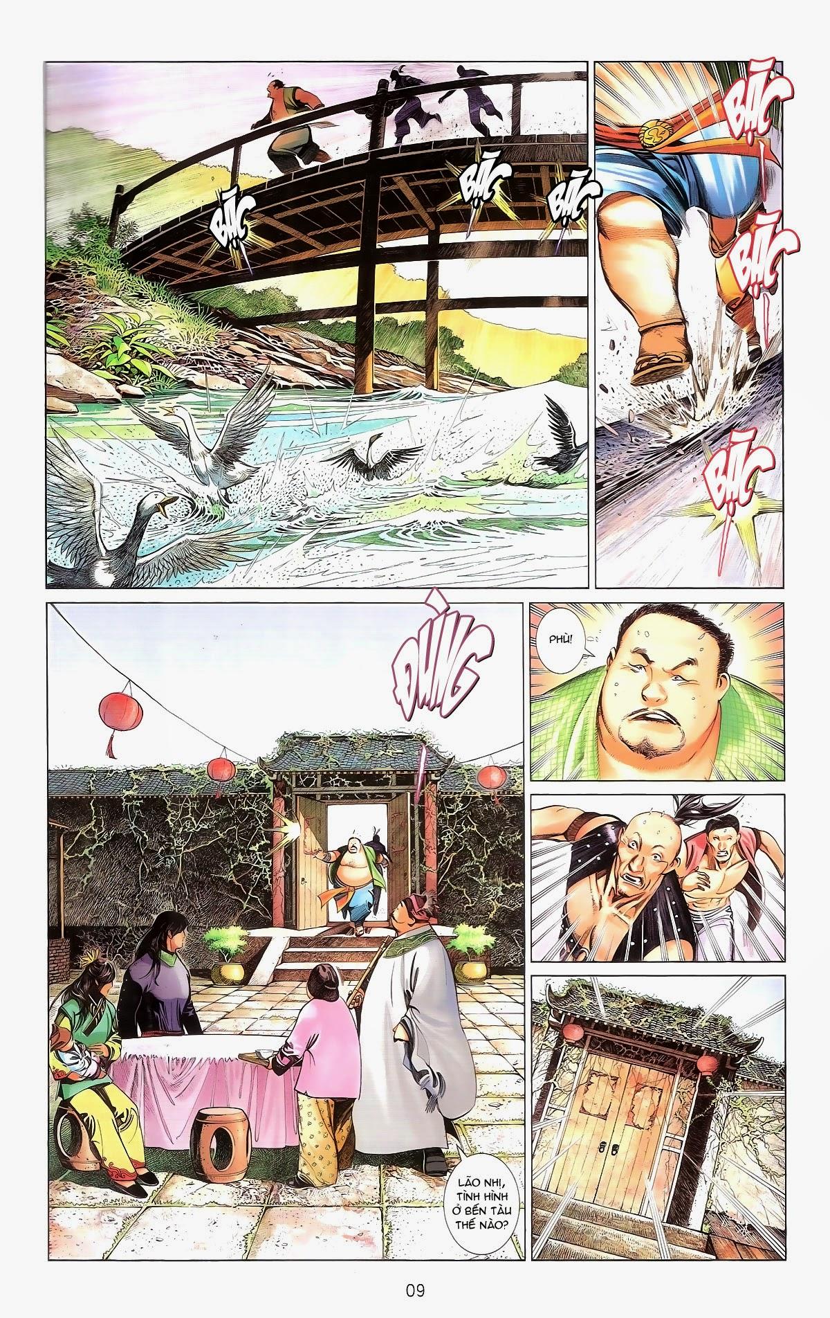Phong Vân chap 674 – End Trang 11 - Mangak.info