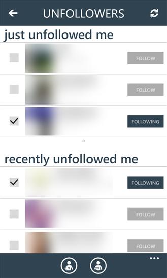 UnfollowSpy | Mengetahui Orang Yang Unfollow Twitter Kita | Windows Phone
