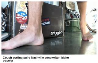 Couchsurfing movie clip Nashville