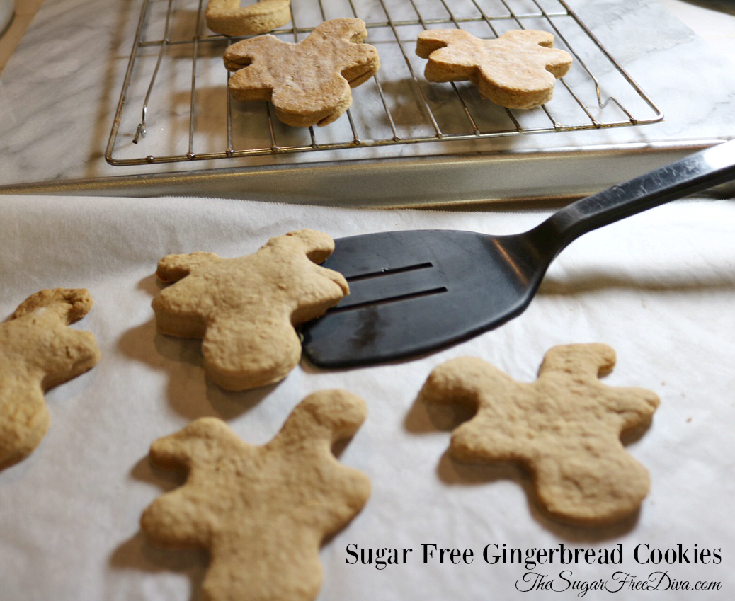 Sugar Free Ginger Bread Cookies