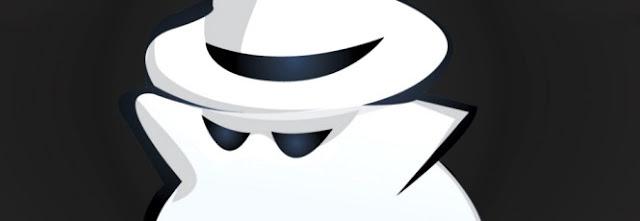 Modo anônimo na internet