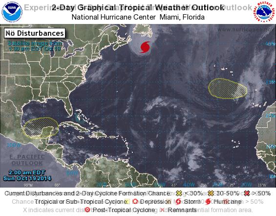 tormenta tropical Canarias domingo 19 octubre
