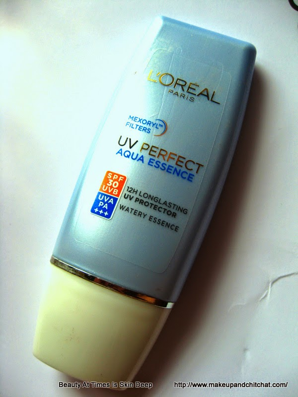 review of L'Oreal UV Perfect Aqua Essence