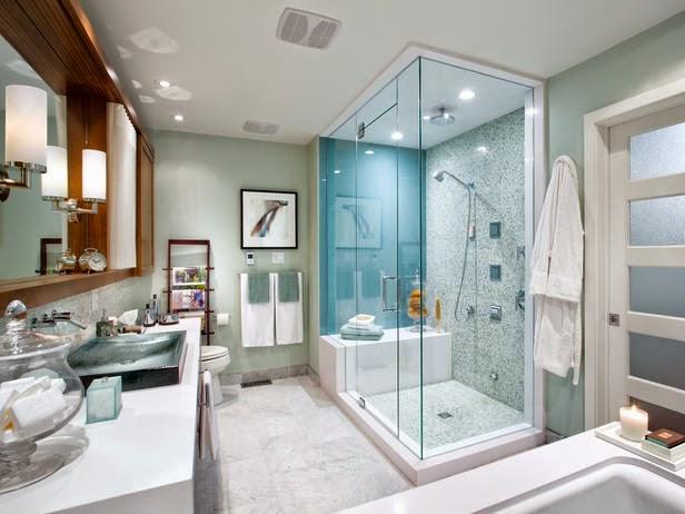 Ide desain shower kamar mandi