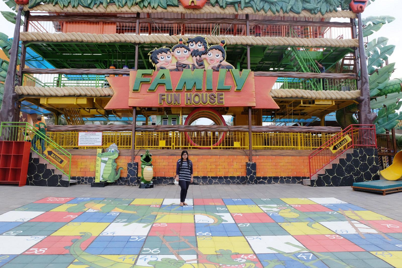 Lokasi dan Harga Tiket Masuk Predator Fun Park Malang