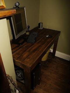 Muebles de palets - Escritorio de palets ...