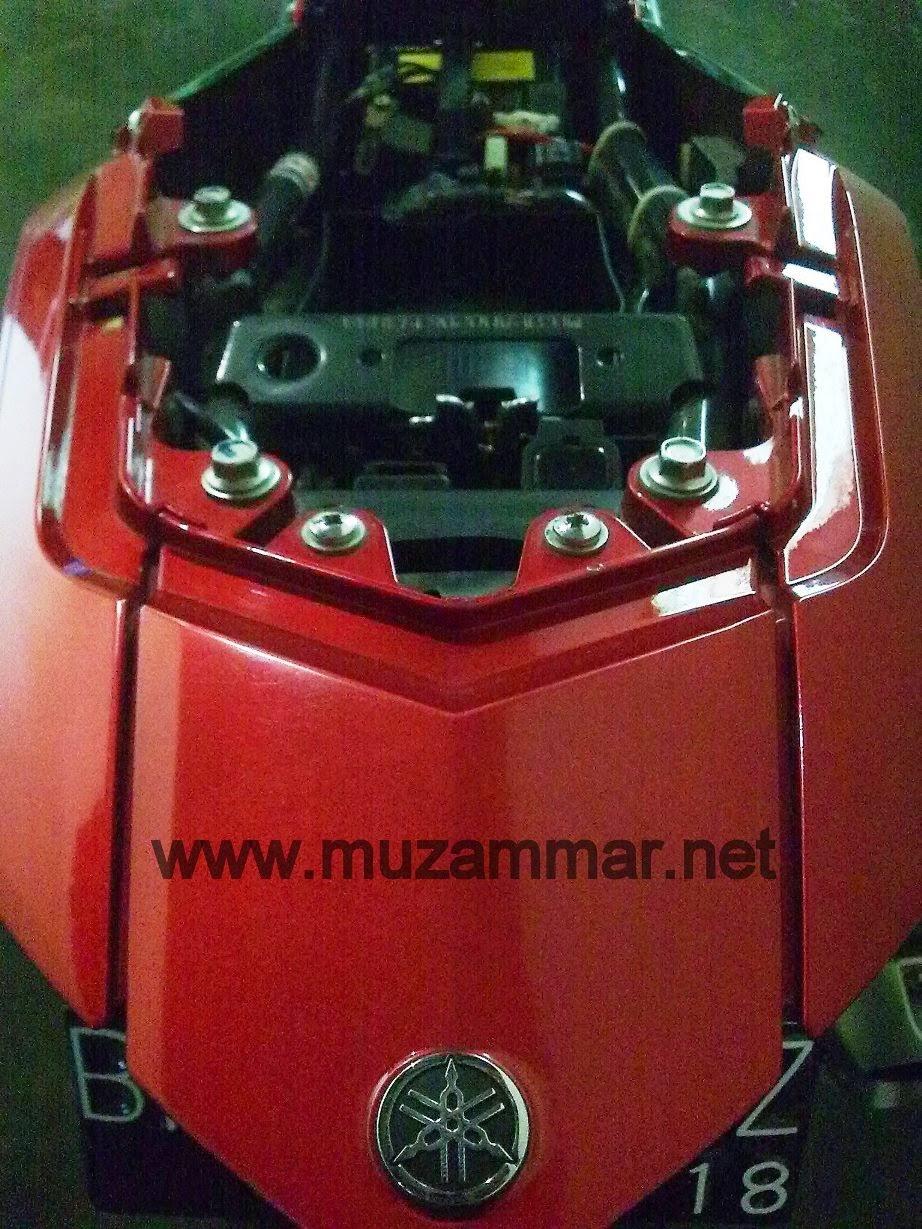 Lampu belakang New Yamaha Vixion Lightning cepat putus , efek AHO kah ?