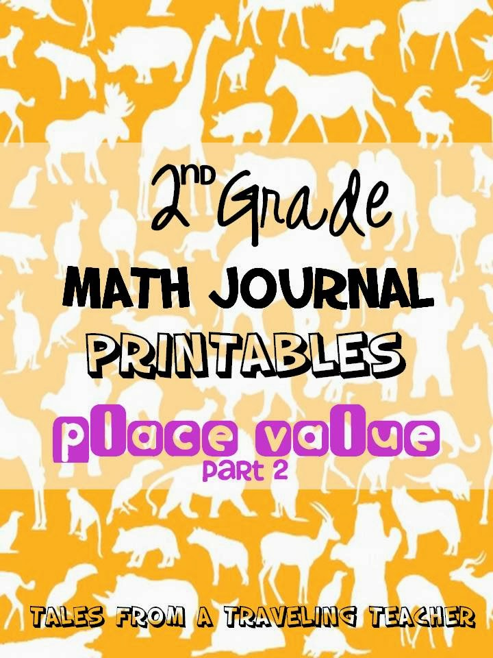 http://www.teacherspayteachers.com/Product/Math-Journals-Place-Value-Printables-for-Second-Gr-Part-2-1057515