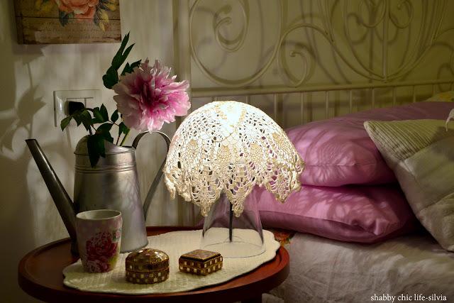 lampada e crochet