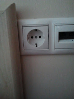 Power outlet in Greece
