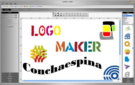 Descargar logomaker 2 0 taringa xp portal programas for Logos para editar