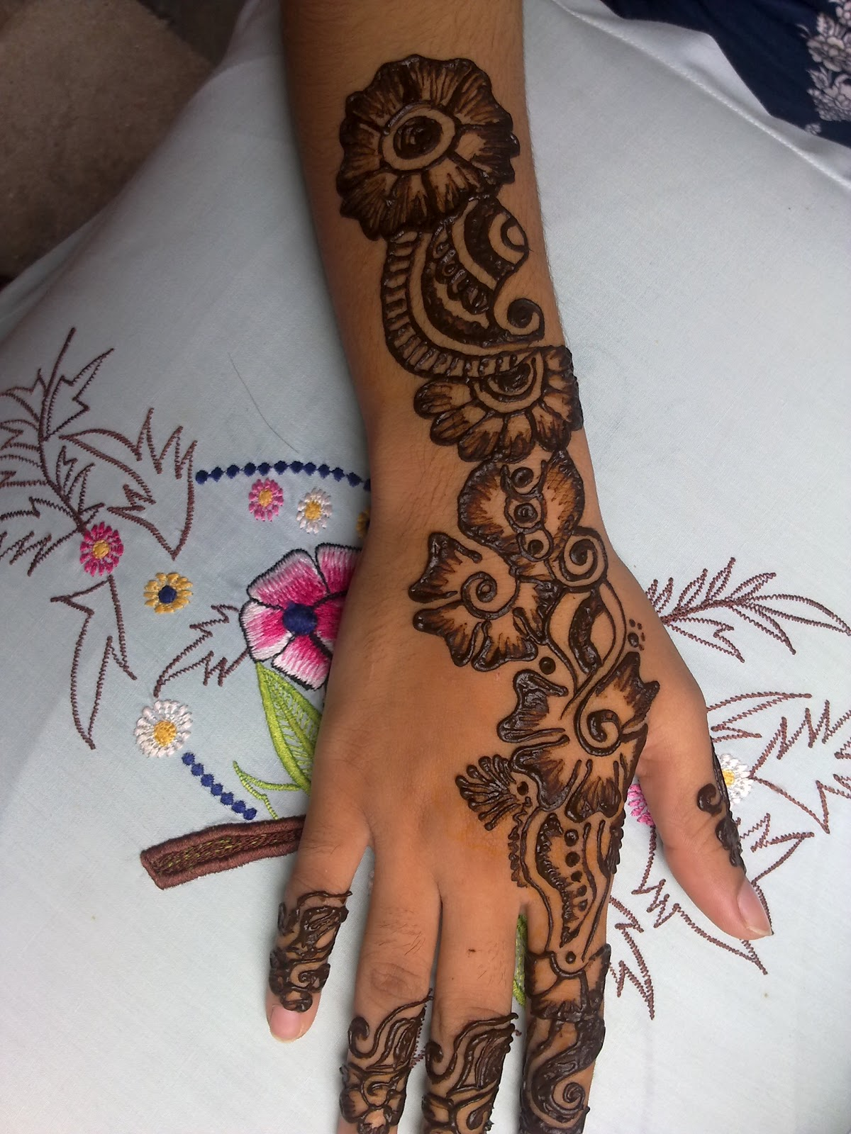 Latest Henna Mehndi Design : Mehndi designs for hands new arabic