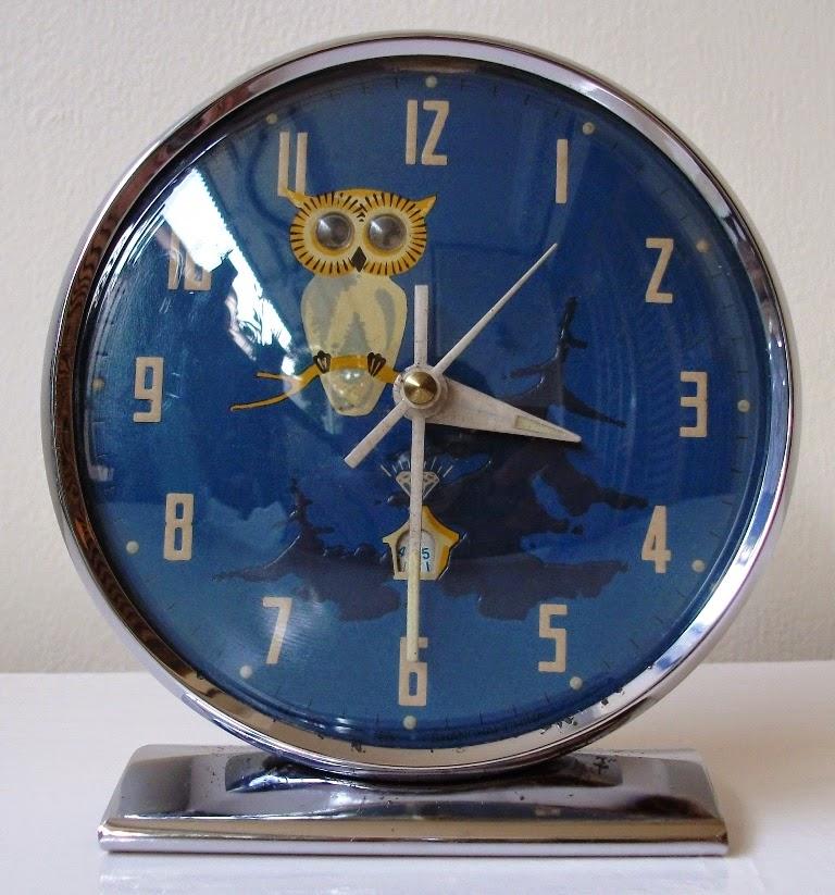 Jam weker Burung Hantu #5