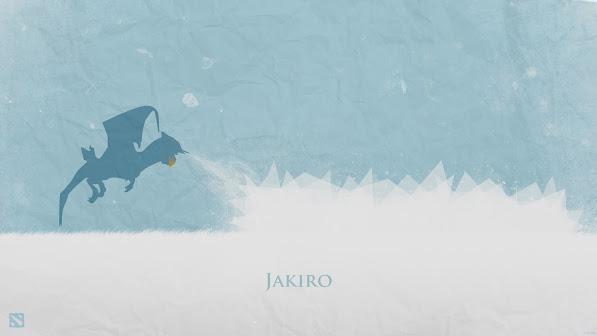 Jakiro Minimalist Dota 2 9c