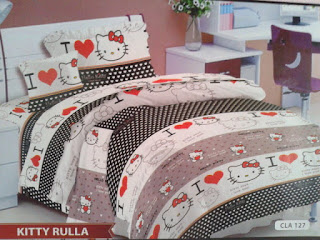 Sprei Hello Kitty Rulla