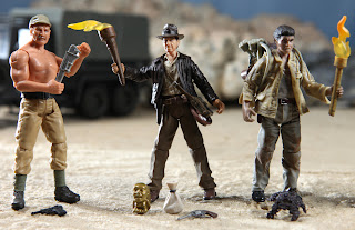 Indiana Jones Figures exclusive comic con