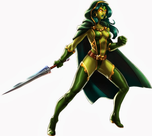 Gamora Marvel Avengers Alliance