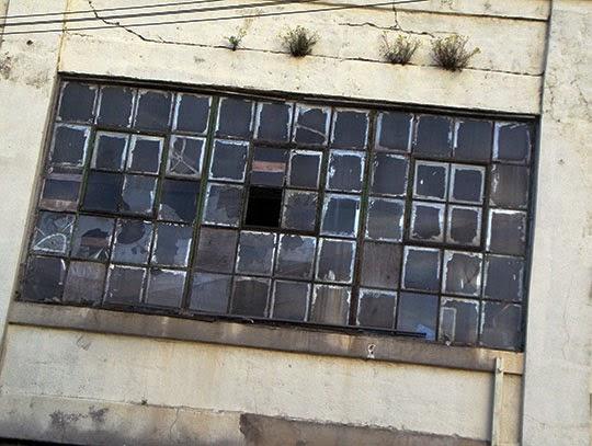 one broken window, urban photography, contemporary, photo,