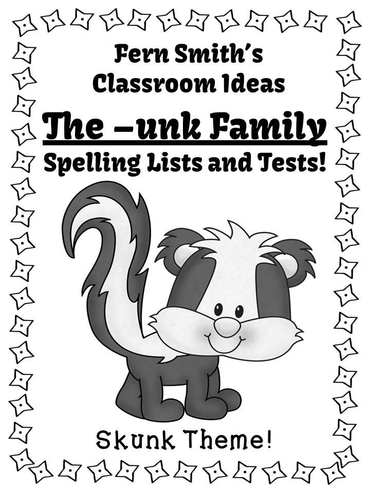 http://www.fernsmithsclassroomideas.com/2014/03/ferns-freebie-friday-free-spelling-unk.html