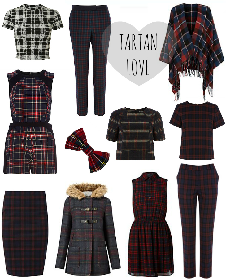 Love From Lisa: Tartan Trend