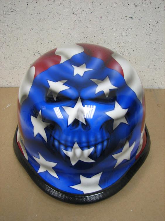Skull Flag Helmet