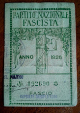 1926 - TESSERA DEL FASCIO DI CAPRIATE S. GERVASIO