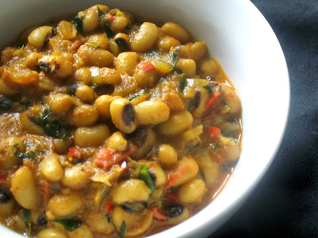 black eyed pea curry with tamarind