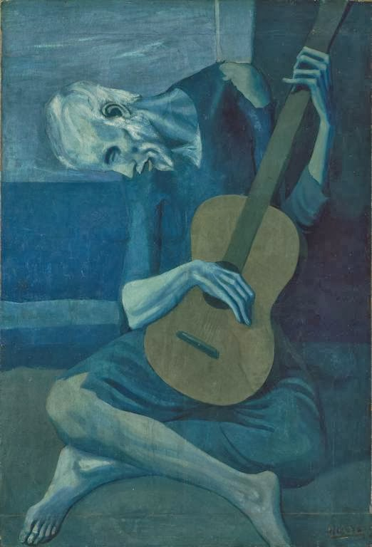 For Example Look At The Painting Old Guitarist By Pablo Picasso