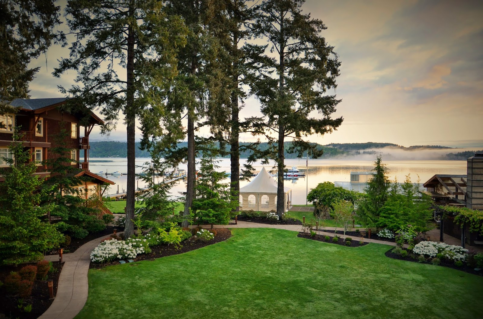 Alderbrook resort homes homemade ftempo for Alderbrook homes