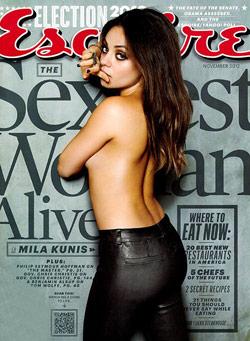 Mila Kunis Sexiest Woman Alive 2012