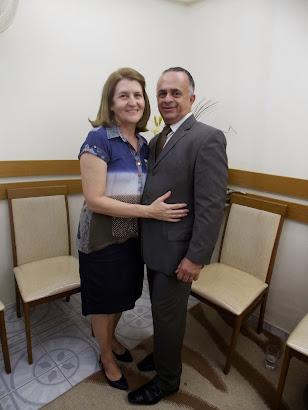 Pr. Manassés Santos e Esposa Kátia Santos