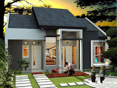 design rumah minimalis 1 lantai type 60